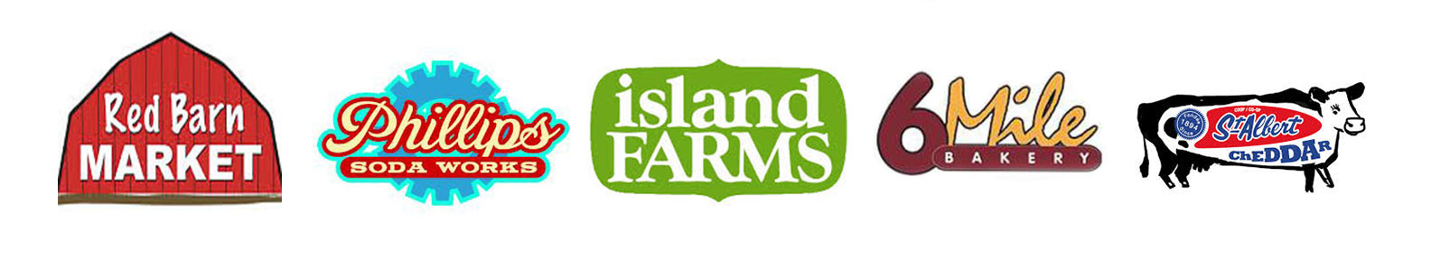 local food product logos