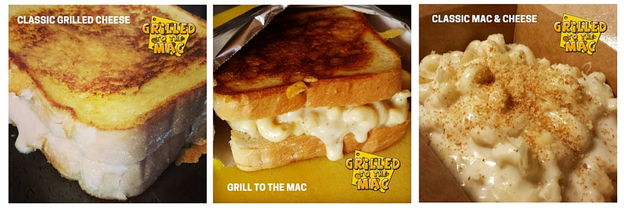 Grilled To The Mac - Classic Grilled Cheese Sandwich, Classic Mac & Cheese, Grill To The Mac Sandwich